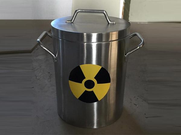 铅防护废物桶